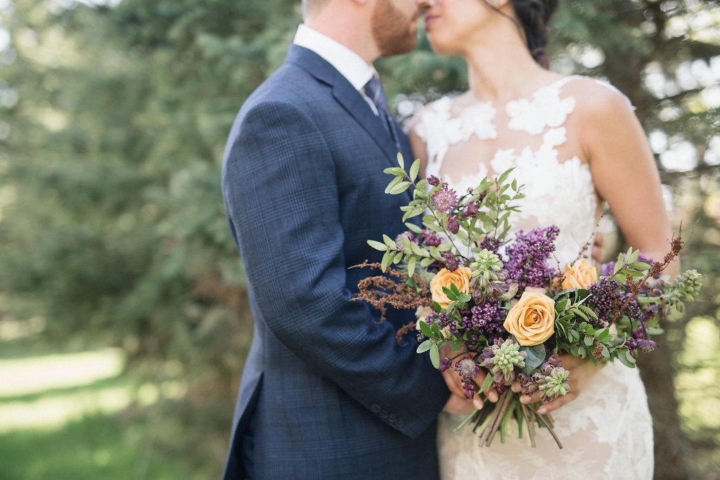 Lilac Wedding Bouquet - Winnipeg Wedding Florist