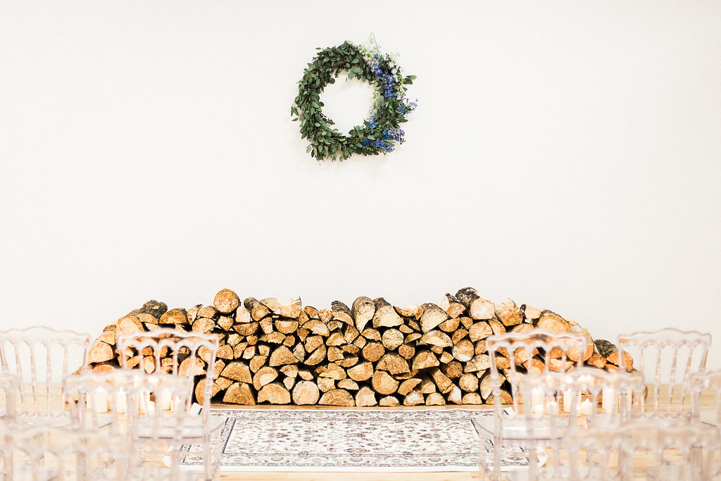 Warehouse Wedding Ceremony - Winter Wedding in Winnipeg