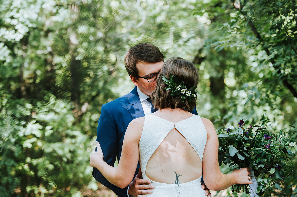 Greenery Comb for Hair - Wedding Flower Inspiration
