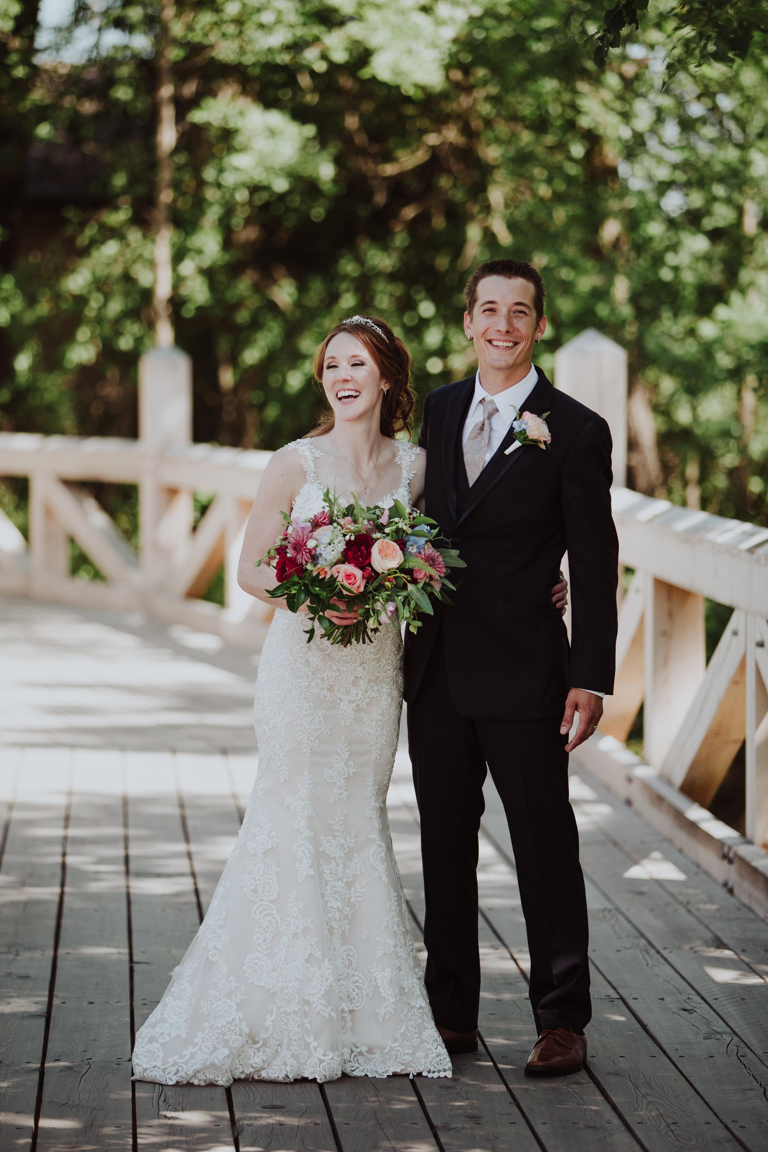Jewel Tone Wedding Flowers - Fort Garry Hotel Wedding
