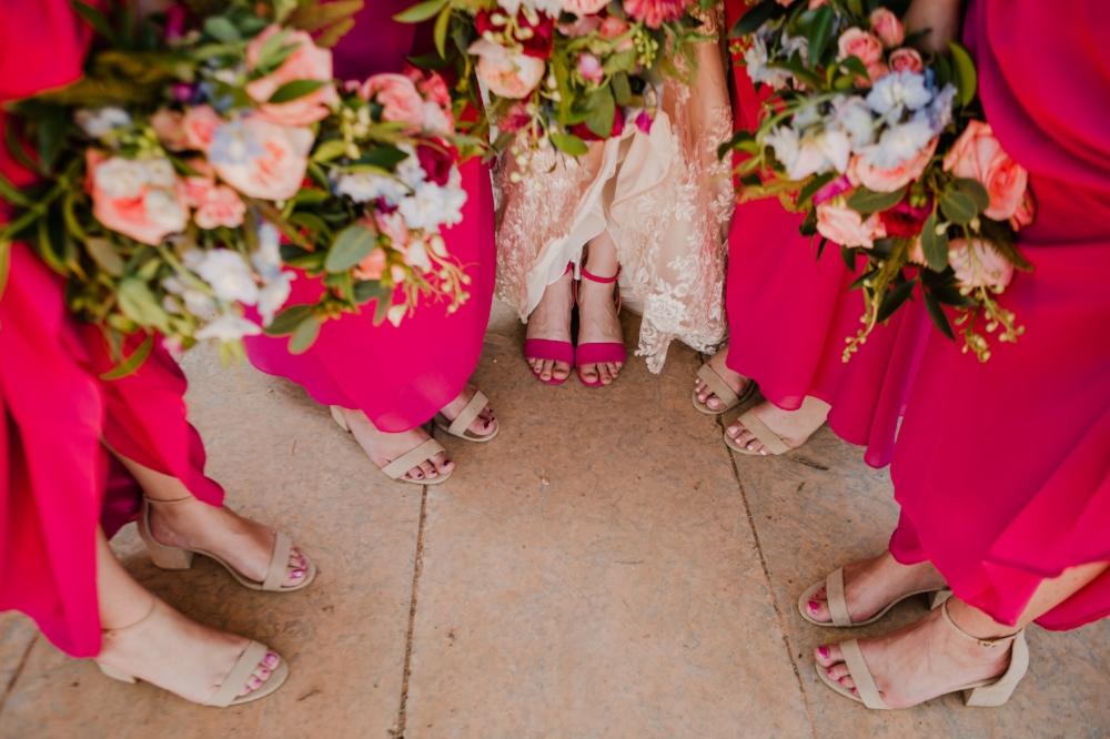 Vibrant Wedding Flowers - Bold Wedding Colours