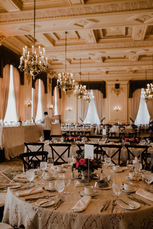 Fort Garry Hotel Provencher Room - Elegant Ballroom Wedding Winnipeg