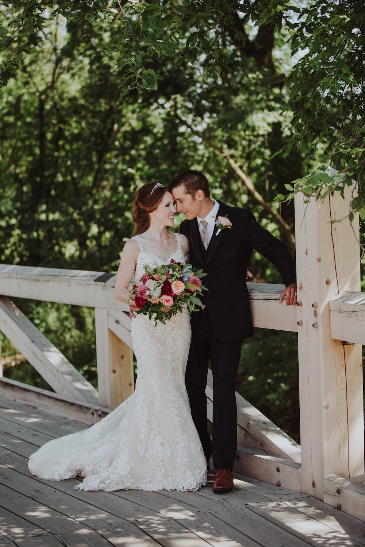 Jewel Tone Wedding Bouquet - Winnipeg Wedding Florist