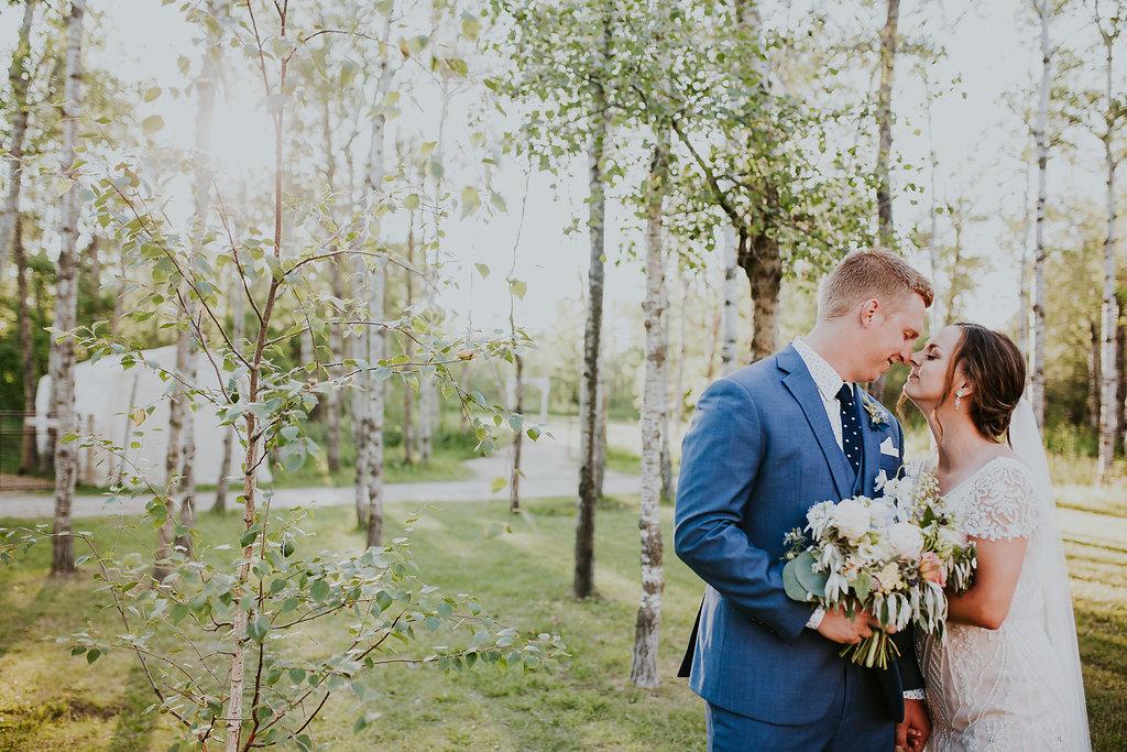 Romantic Outdoor Wedding - Pineridge Hollow Wedding