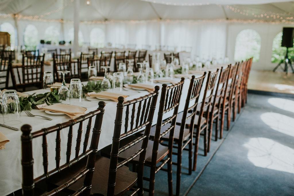 Elegant Tent Wedding - Wedding Florists in Winnipeg