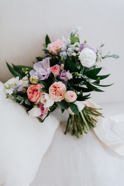 Pastel Bridal Bouquet - Wedding Florist in Winnipeg