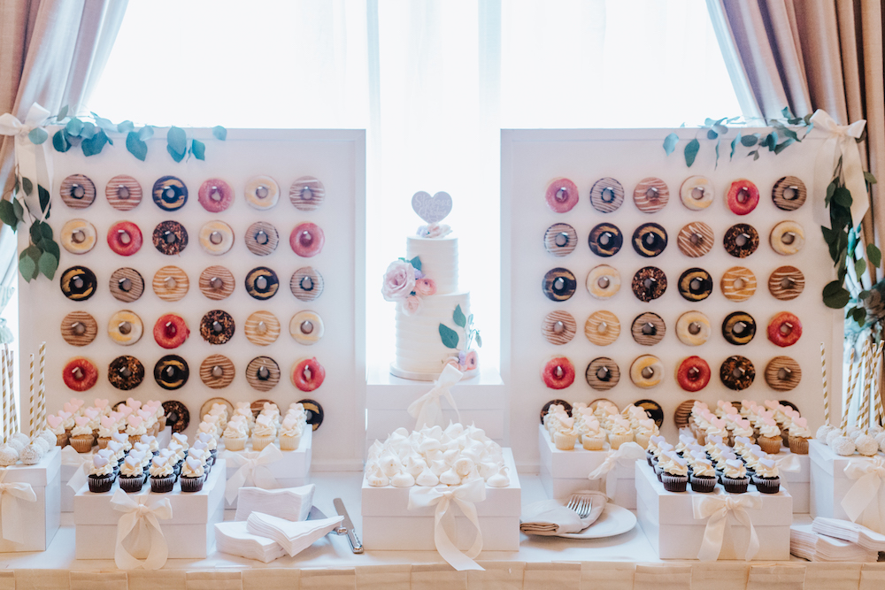 Sweet Impressions - Donut Wall at Wedding