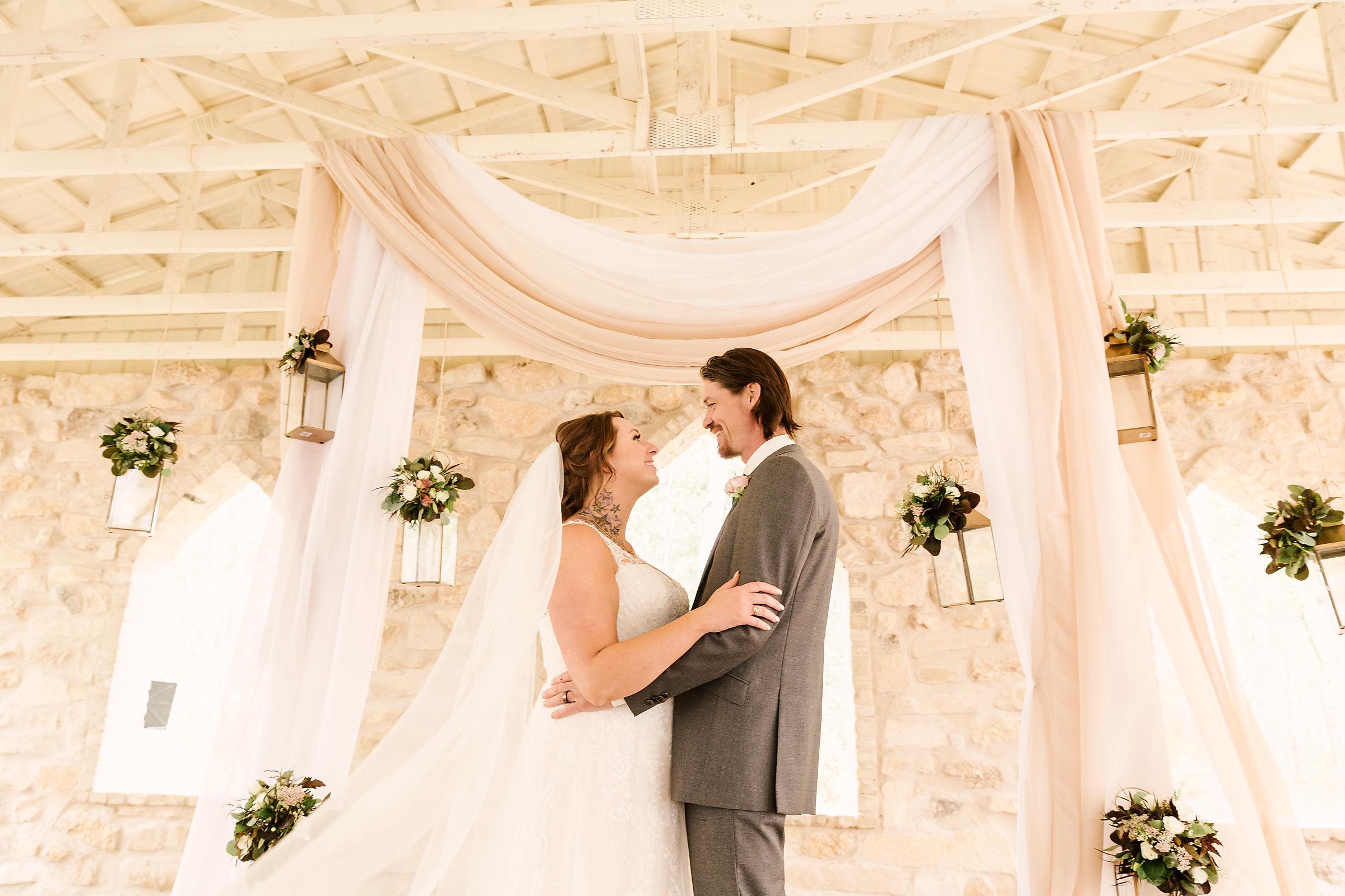 Wedding at Cielo's Garden - Hanging Floral Decor