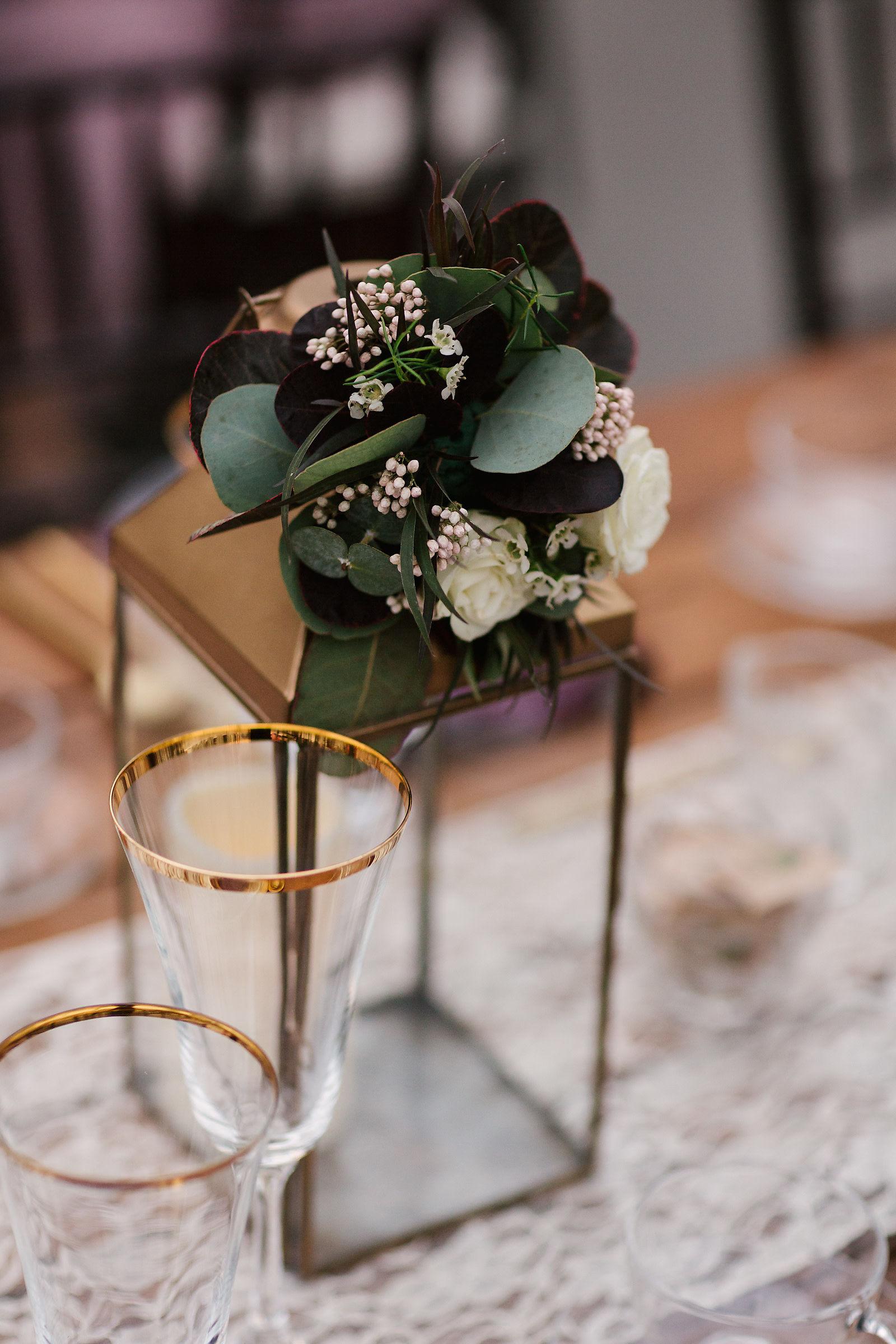 Floral Lantern Decor - Winnipeg Wedding Flowers