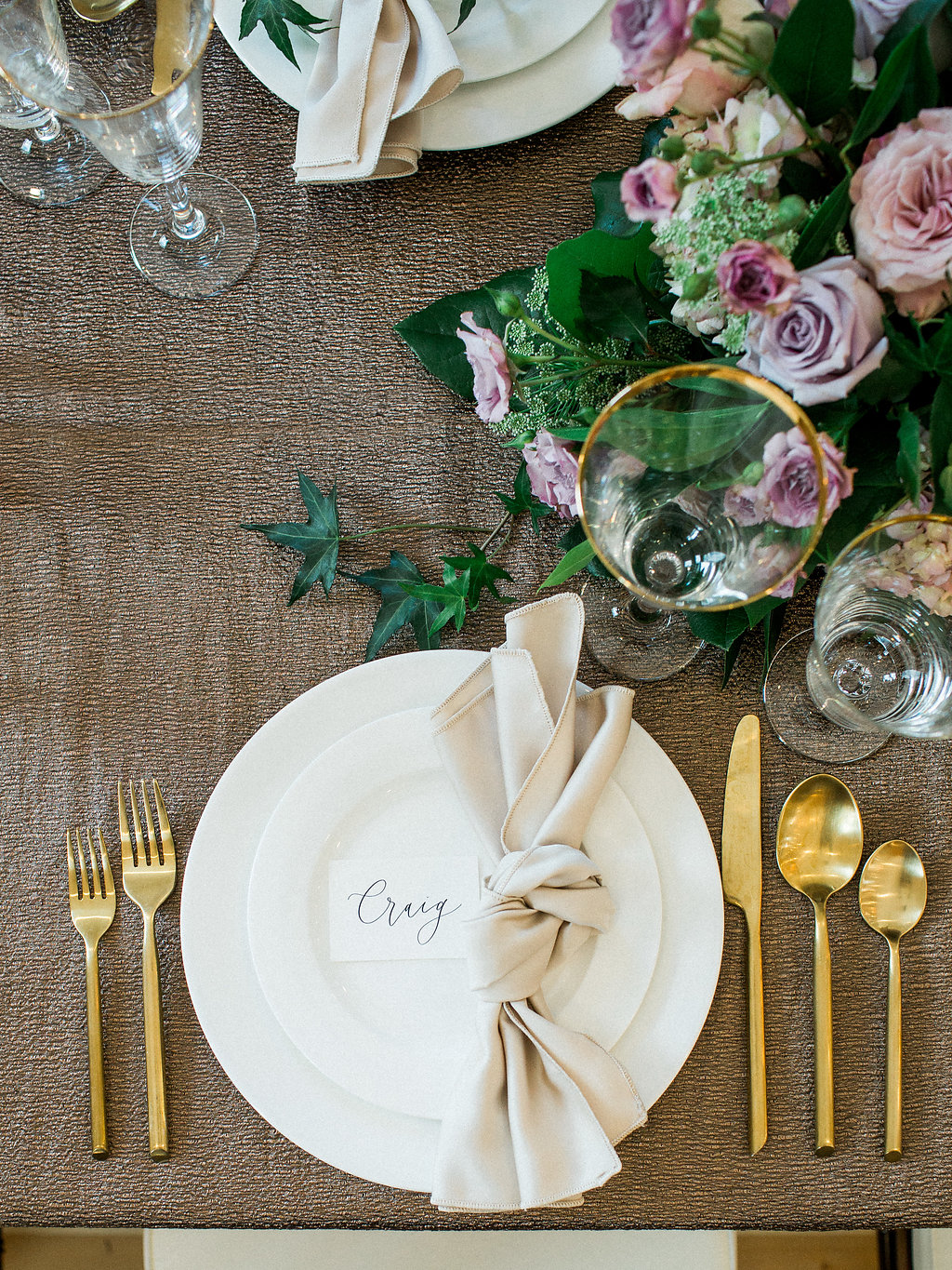 Copper and Lavender Wedding Inspiration - Winnipeg Wedding Florist
