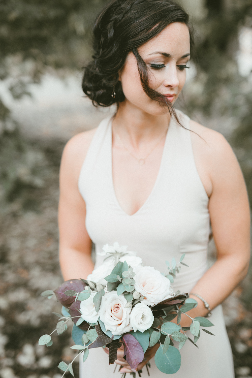 Quicksand Rose Bouquet - Winnipeg Wedding Flowers