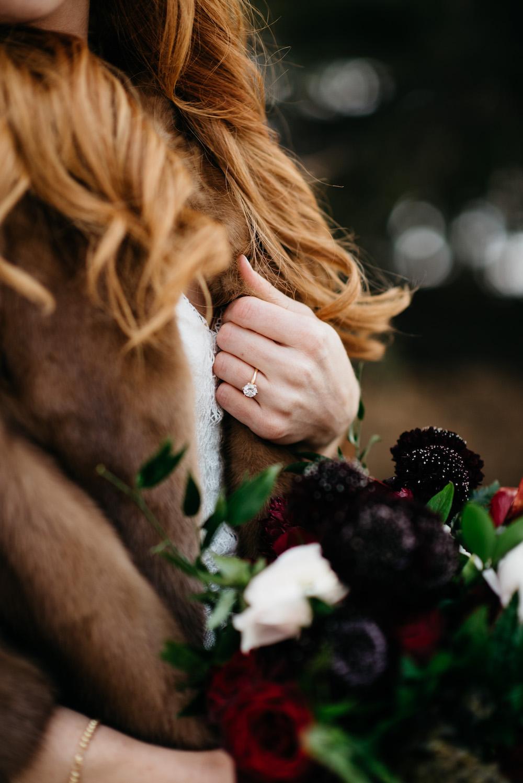 Winter Wedding Photos - Winnipeg Wedding Flowers