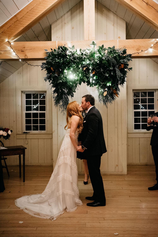 Winter Weddings at Fort Gibraltar - Wedding Florists in Winnipeg