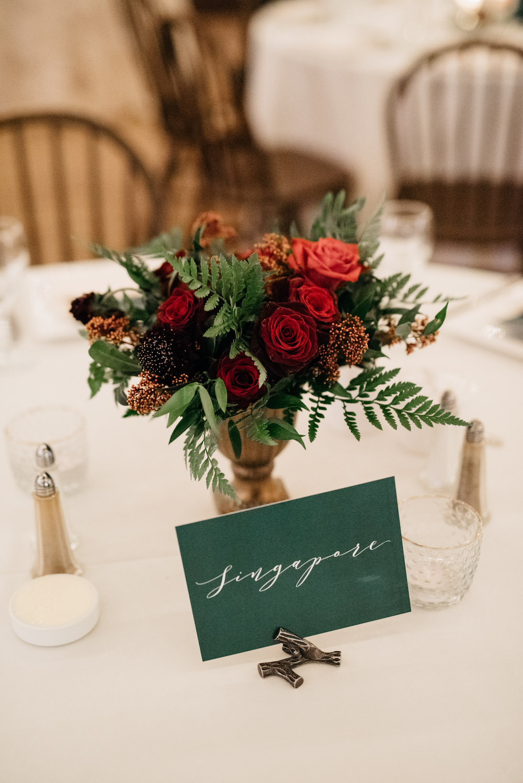 Winter Wedding Flower Ideas - Stone House Creative