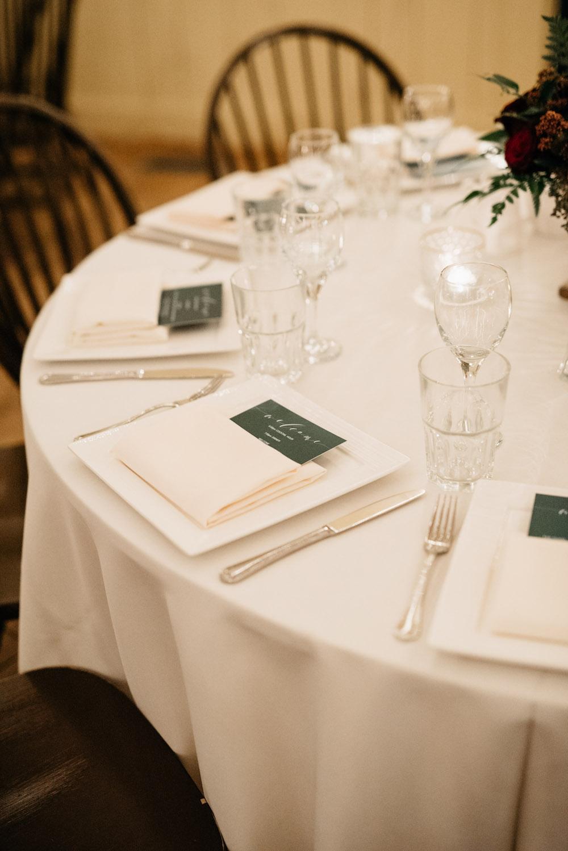 Emerald Green Wedding Decor - Elegant Winter Weddings