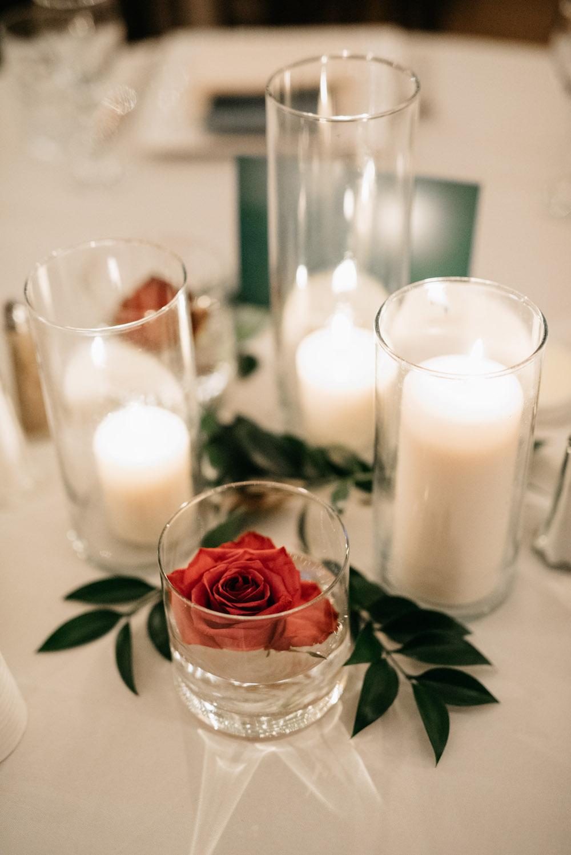 Cost Effective Candle Wedding Centrepieces - Wedding Flowers Winnipeg