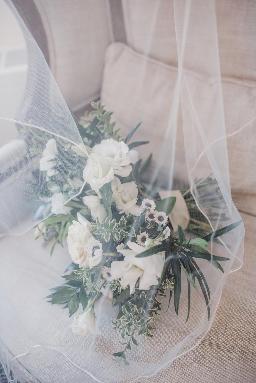 Elegant White Wedding Bouquet - Wedding Florists in Winnipeg