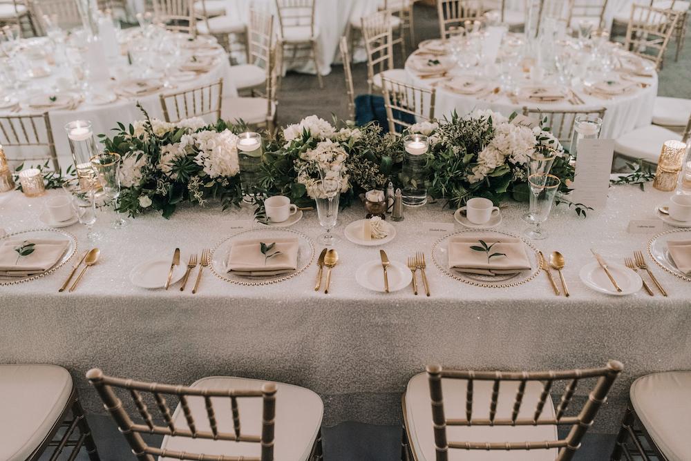 White and Green Wedding Flowers - Wedding Florists Winnipeg