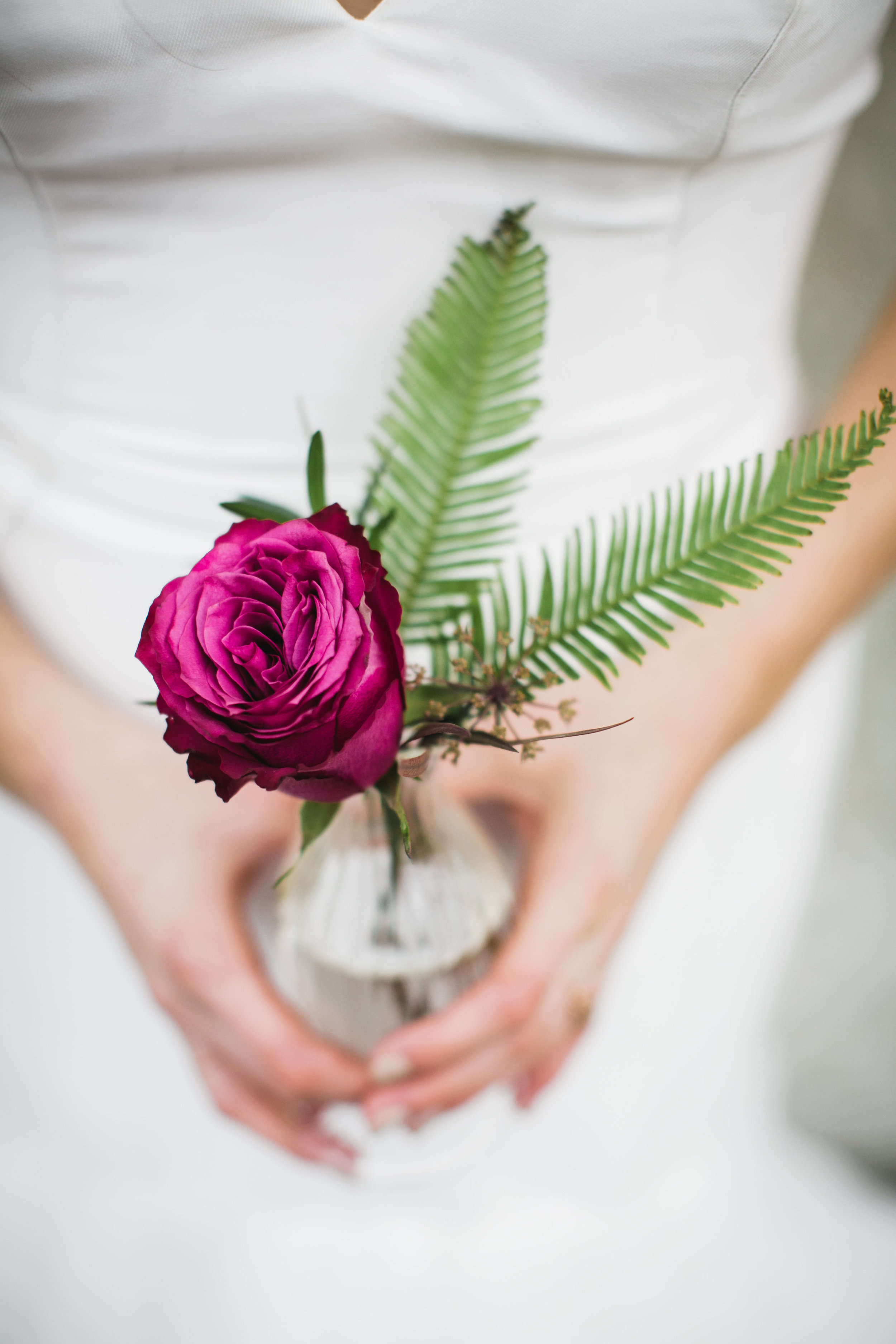 Stem Vase Centrepieces - Cost-Effective Wedding Flowers