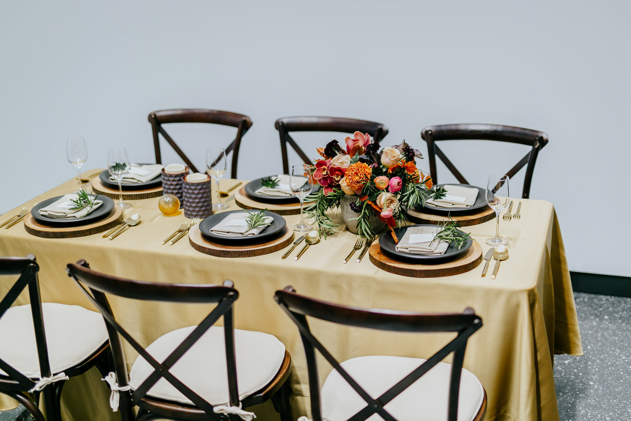 Warm Fall Wedding Inspiration - Winnipeg Wedding Florists