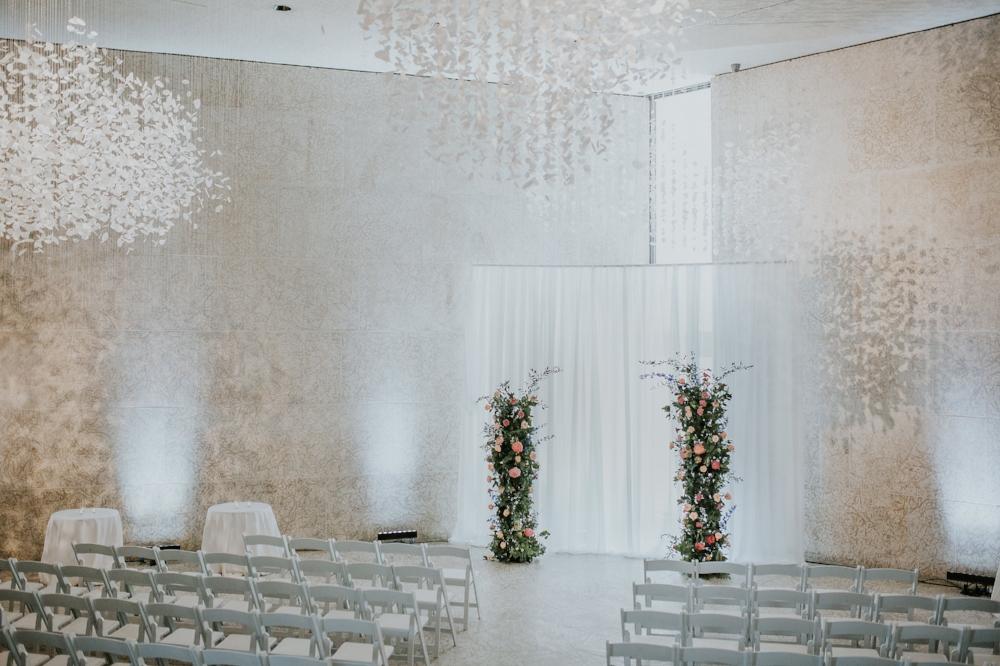 Indoor Wedding Ceremony Winnipeg - Winnipeg Wedding Florists