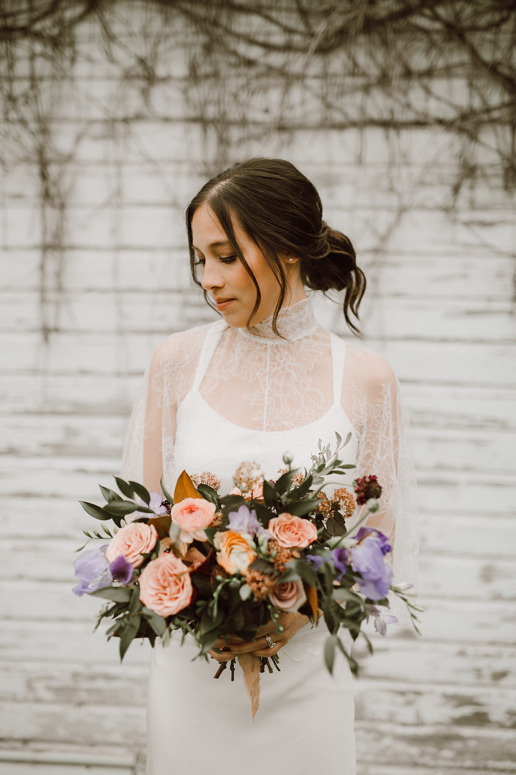 Garden Inspired Bridal Bouquet - Wedding Florists in Winnipeg