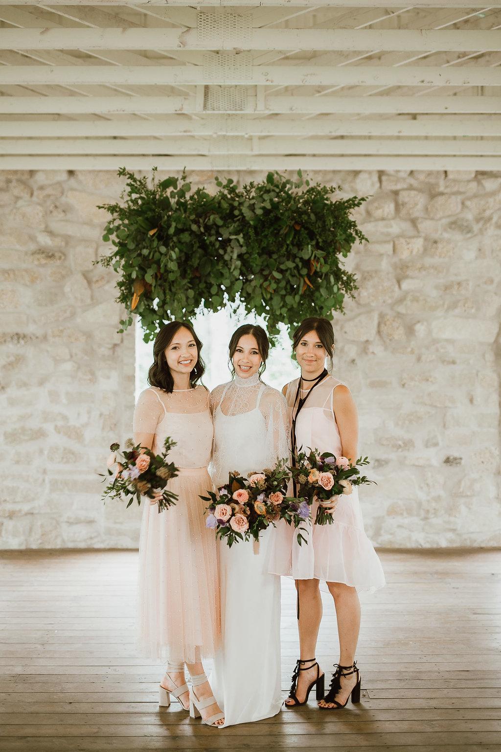Blush and Mocha Wedding - Stylish Wedding Flowers