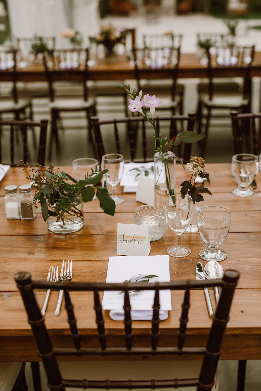 Greenery Centrepieces - Wedding Flowers in Winnipeg