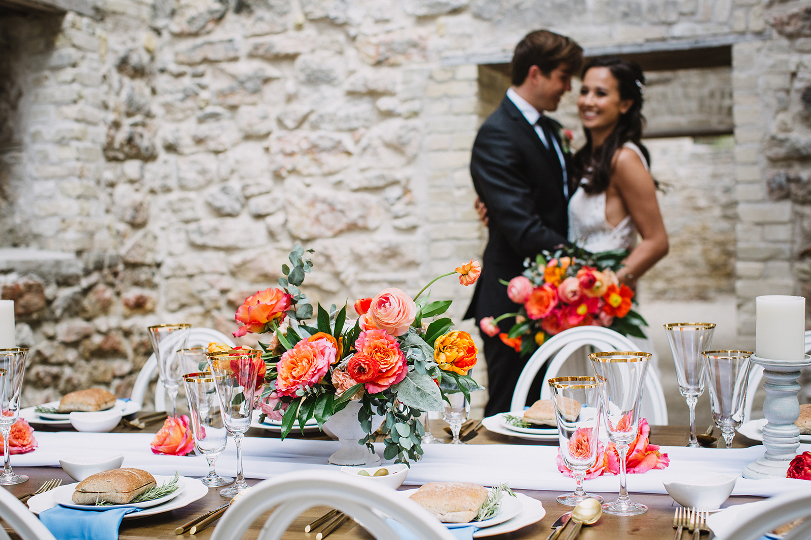 Vibrant Mediterranean Wedding - Winnipeg Wedding Florists