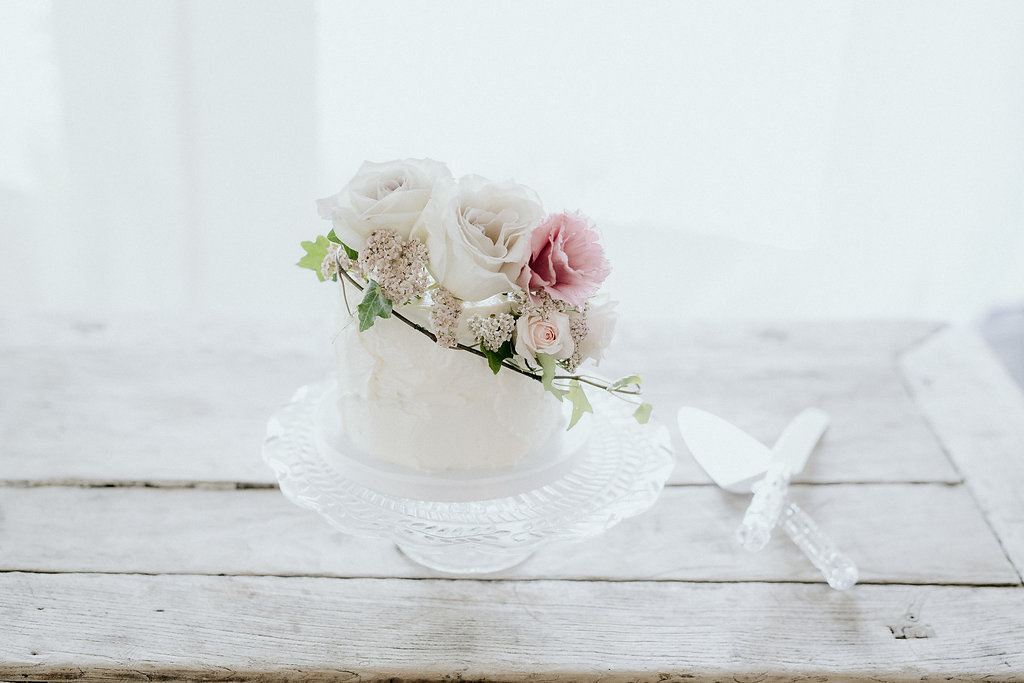 Floral Wedding Cakes - Stone House creative