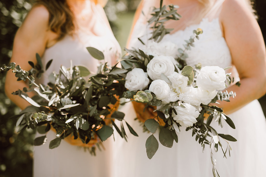 Garden Inspired Wedding Bouquet - Wedding Florists in Winnipeg