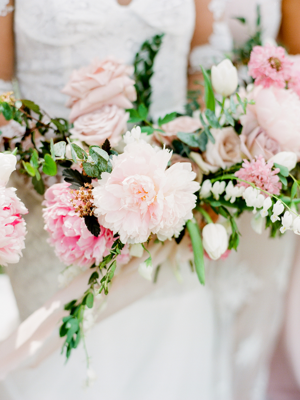 Blush Wedding Bouquet - Stone House Creative