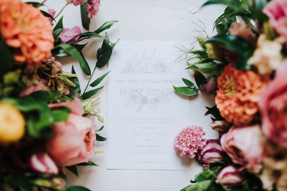 Coral and Pink Wedding Flowers - Summer Wedding Ideas