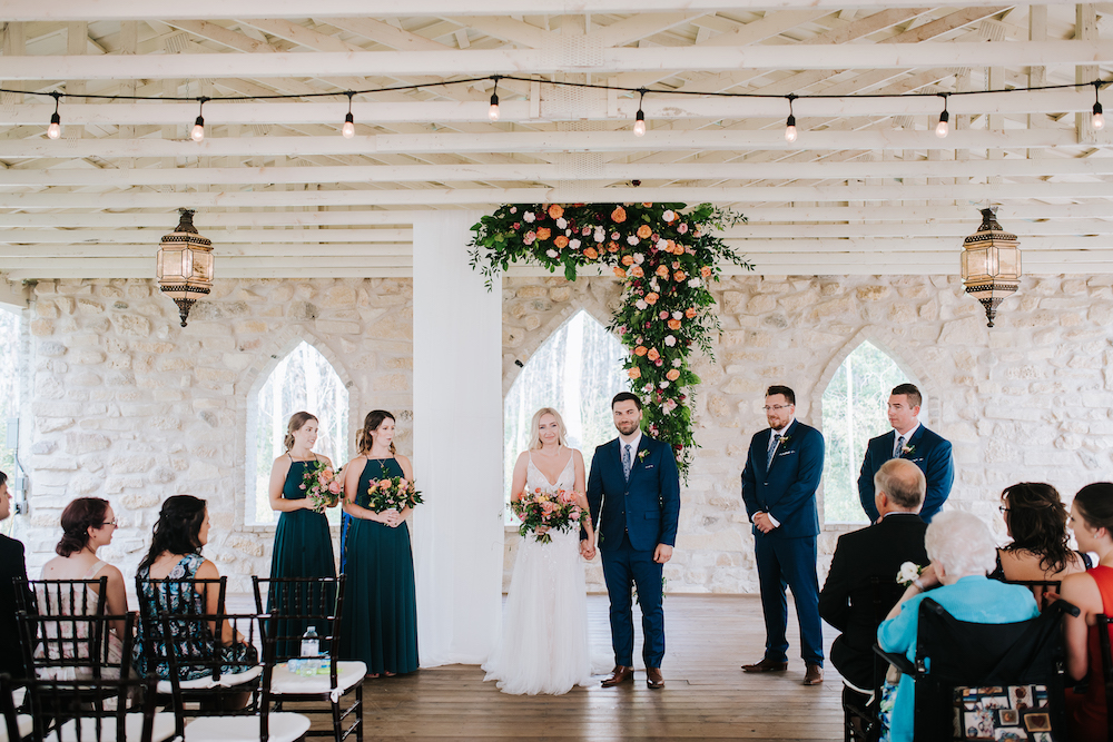 Summer Wedding at Cielo's Garden - Wedding Florist in Winnipeg