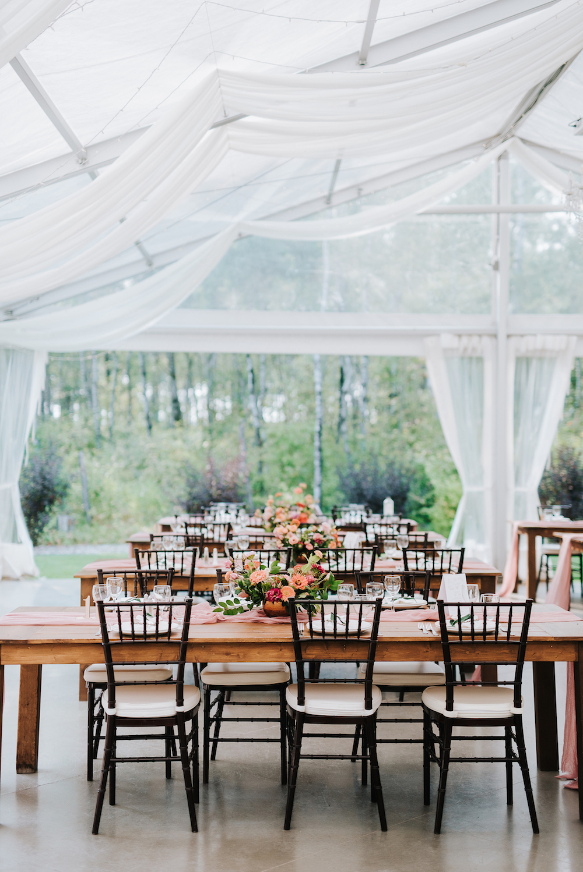 Garden Inspired Wedding Centrepieces - Winnipeg Wedding Florists