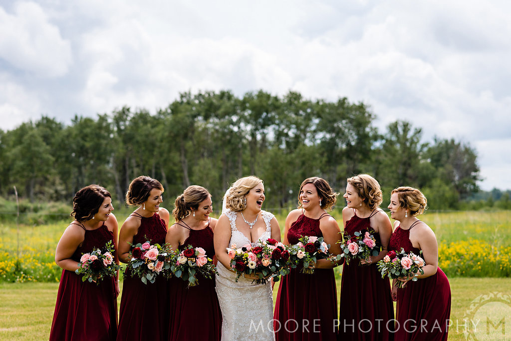 Burgundy Wedding Ideas - Winnipeg Wedding Florist