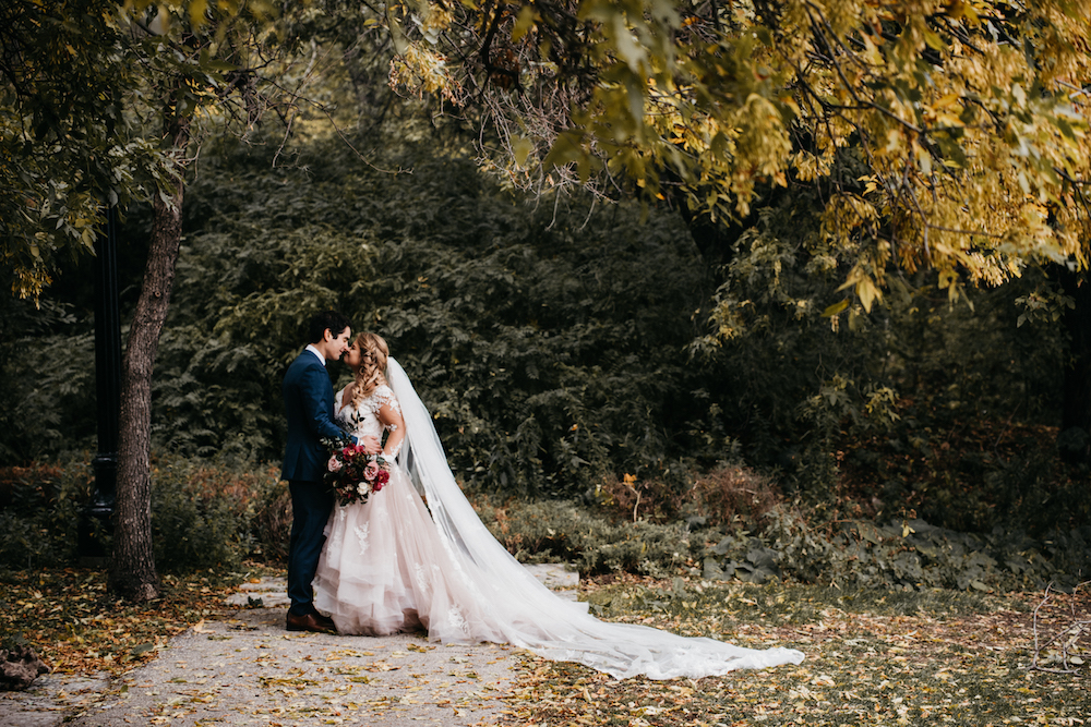 Luxurious Fall Wedding Flowers - Wedding Florists in Winnipeg