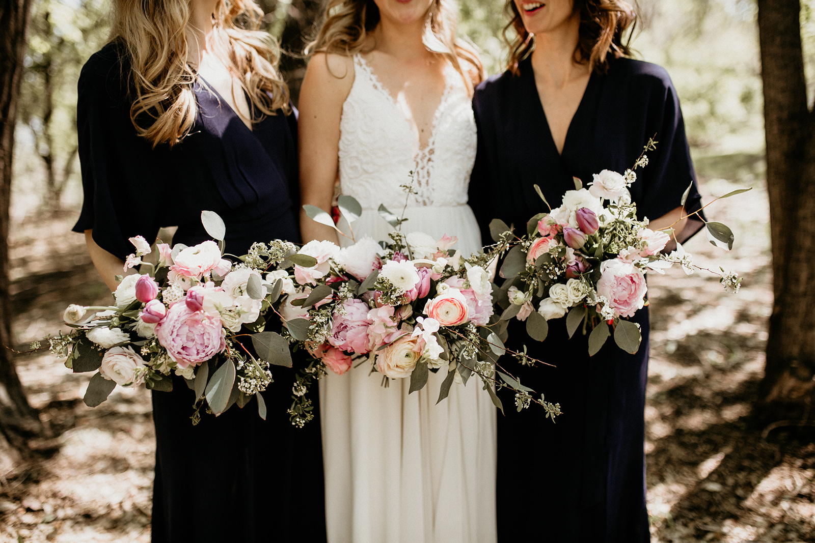 Peony and Ranunculus Bridal Bouquet - Wedding Florists in Winnipeg