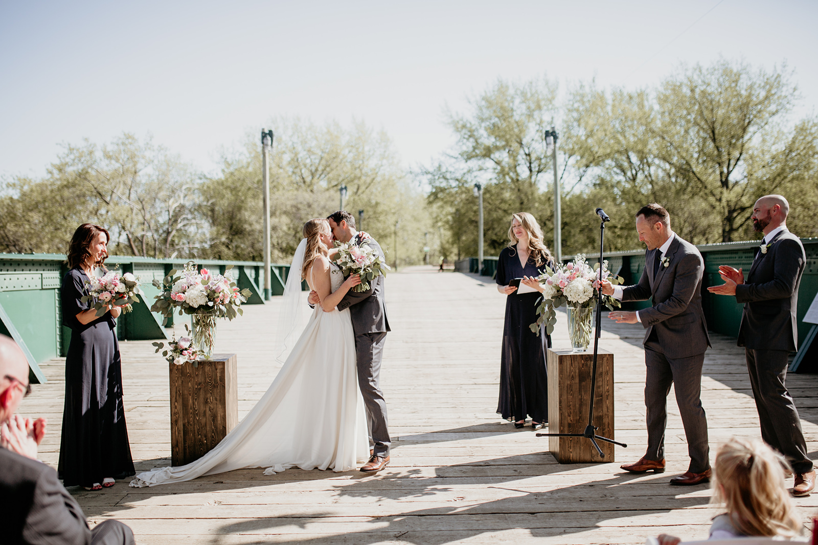 Wedding Ceremony at the Forks - Unique Winnipeg Wedding Venues