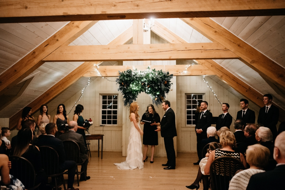 Fort Gibraltar Winter Weddings - Stone House Creative