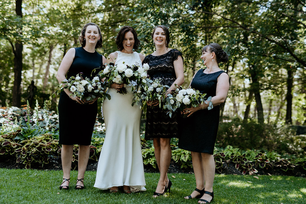 Modern White and Black Wedding - Weddings in Winnipeg