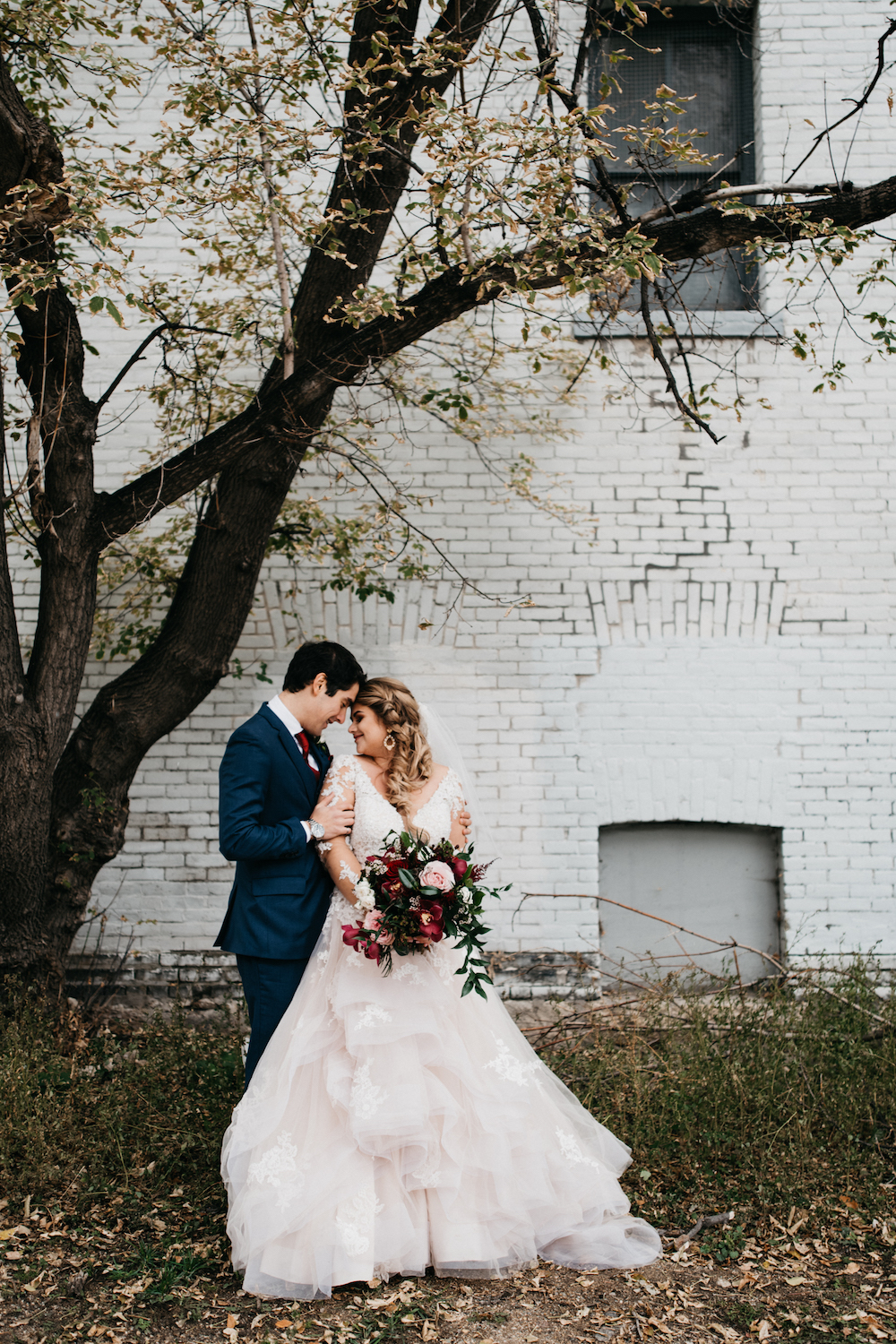 Fall Wedding at Hawthorn Estates - Winnipeg's Top Wedding Florist