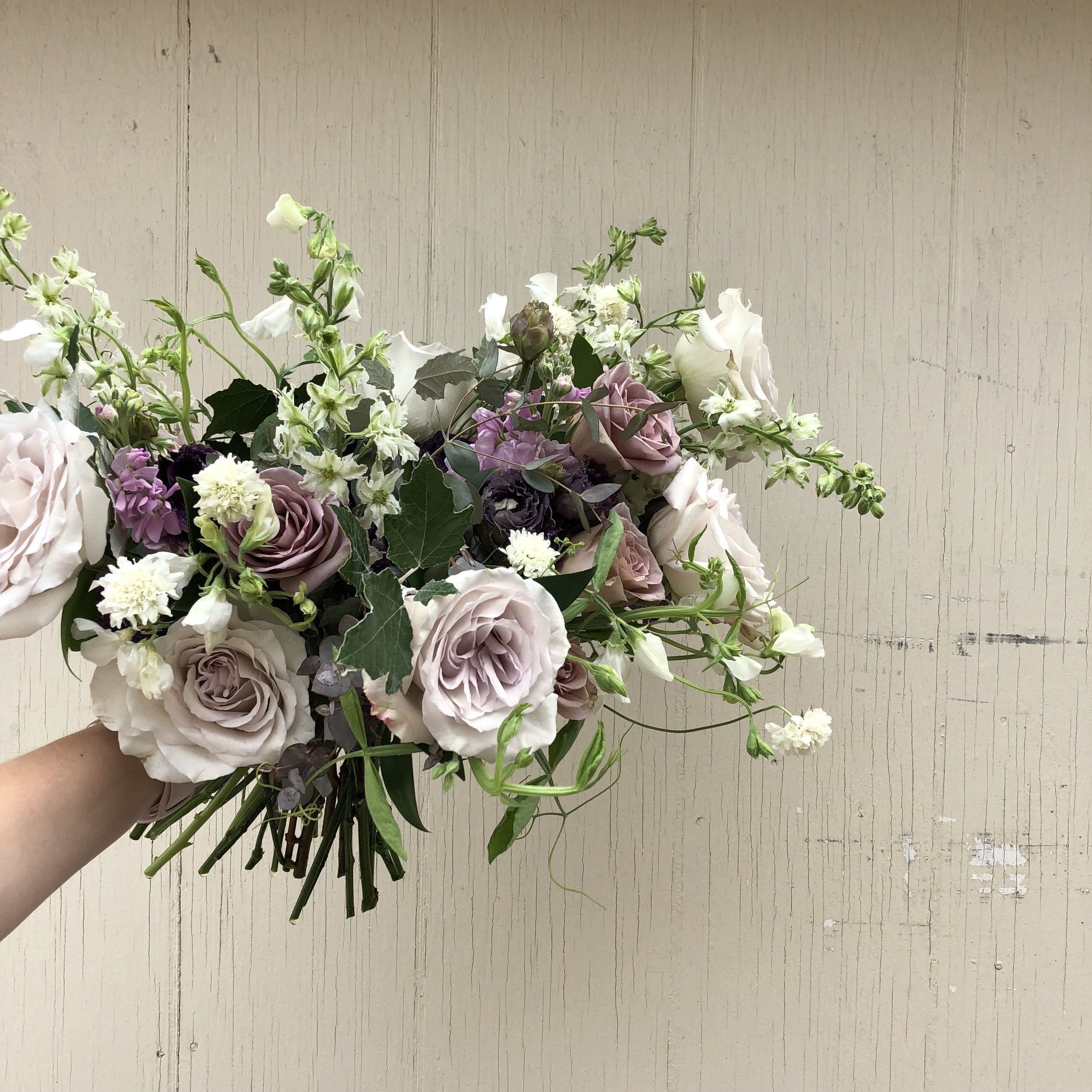 Purple Wedding Bouquet Ideas - Winnipeg Wedding Florists