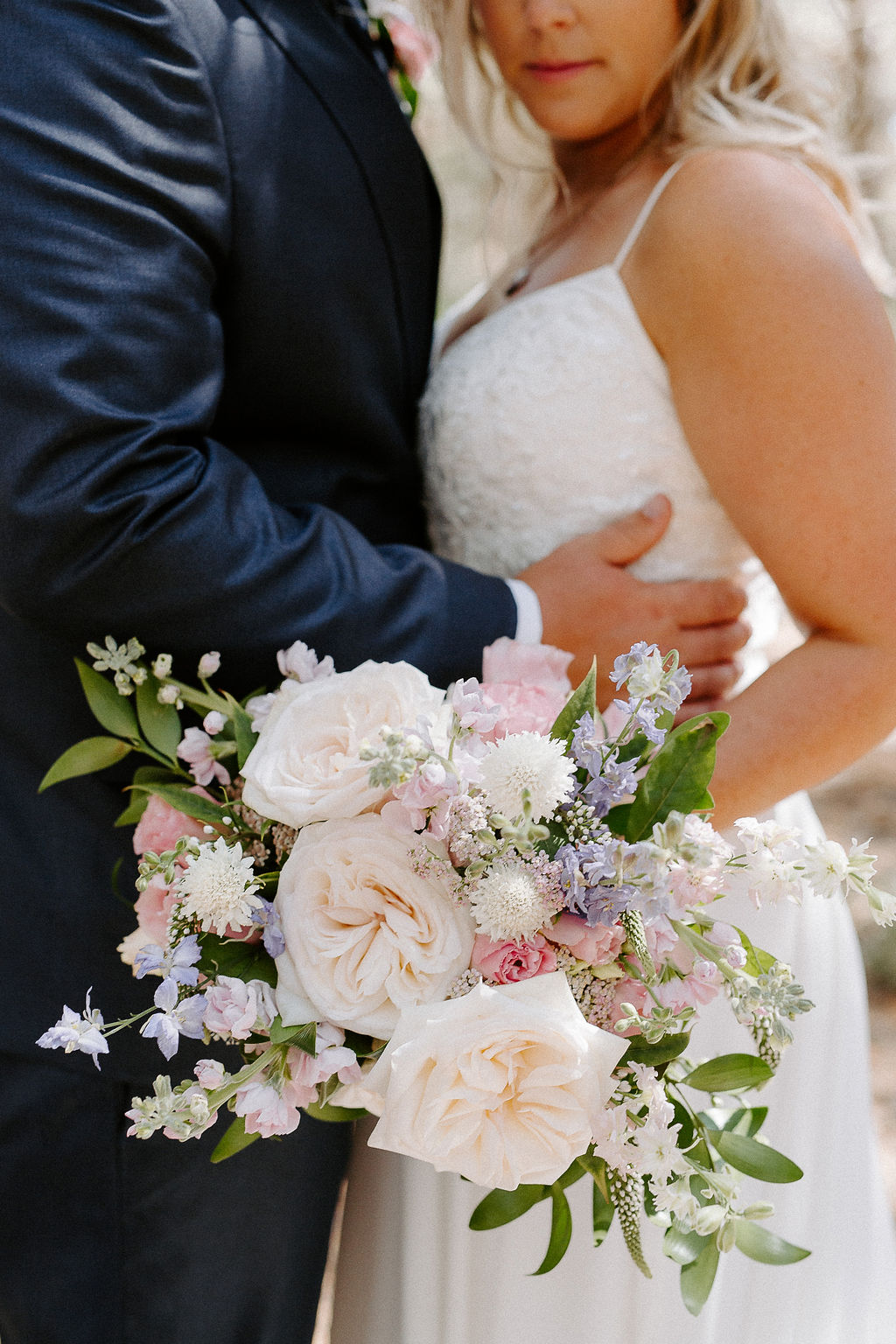 Pastel Pink and Lavender Wedding Flowers - Winnipeg Wedding Florists