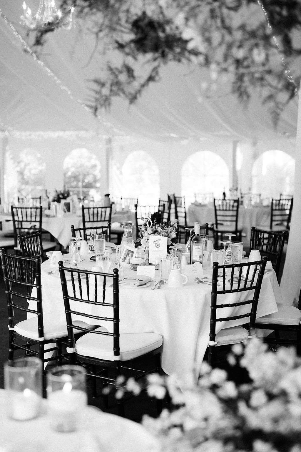 Tent Wedding Decor Ideas - Gorgeous PIneridge Hollow WEdding
