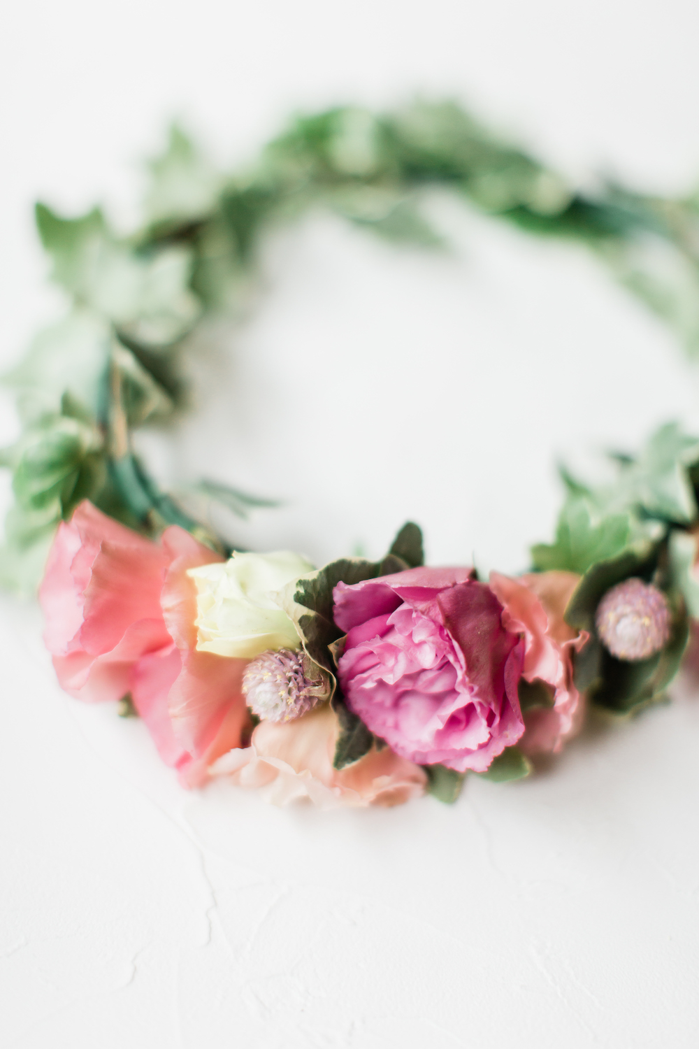 Flower Crown - How to Take the BEst Care of your Wedding Flowers