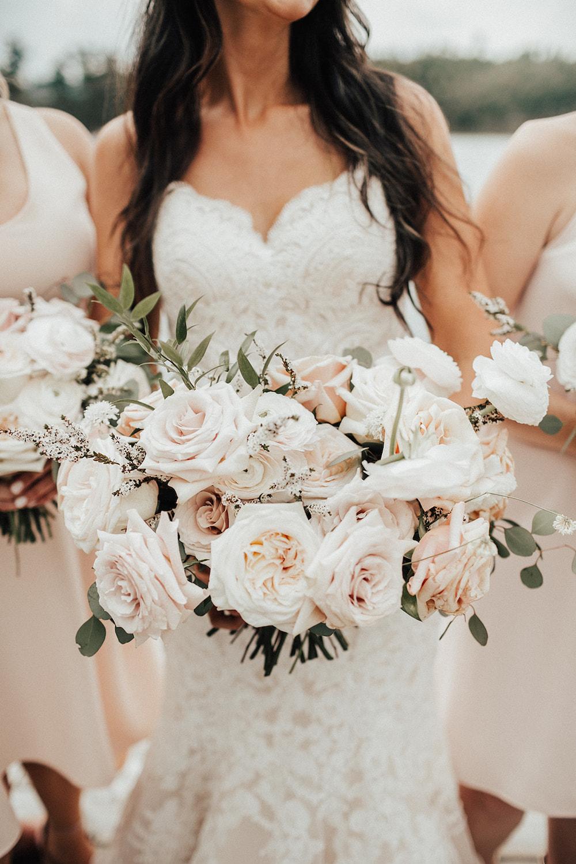 Royal Lake of the Woods Yacht Club Wedding - Kenora Wedding Florists