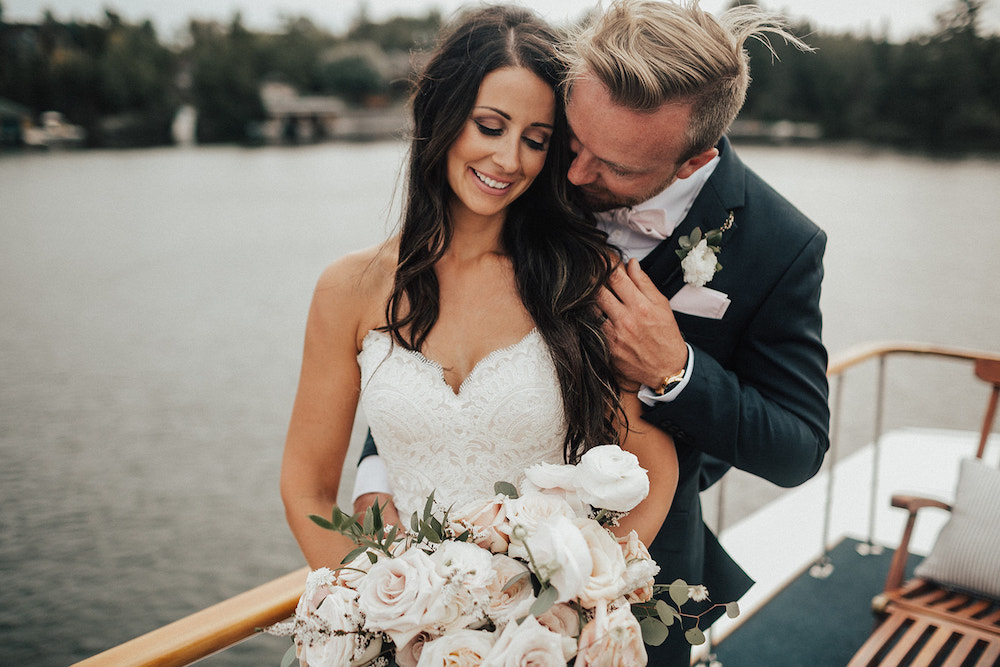Weddings at the Lake of the Woods - Stone House Creative