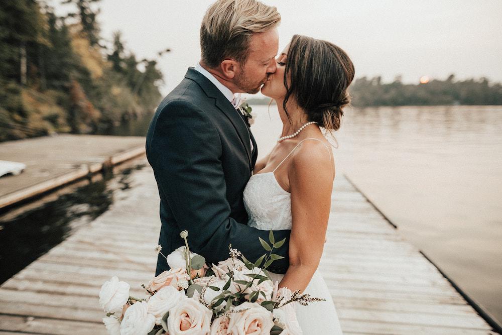 Garden Inspired Bridal Bouquet - Winnipeg's Best Wedding Florist