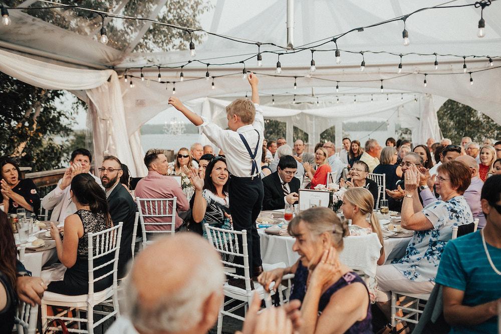 Clear Topped Tent Ideas - Weddings in Winnipeg